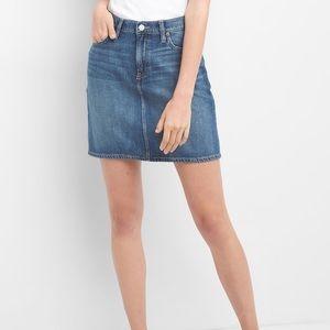 Gap TENCEL jean denim skirt - NWOT